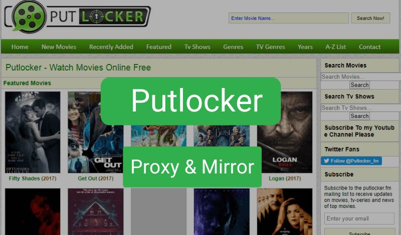 putlocker proxy sites
