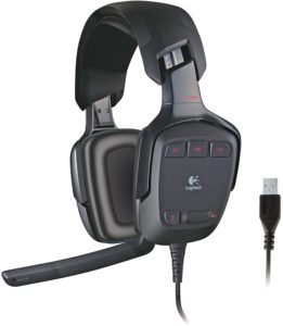 Logitech G35 7.1-Channel Surround Sound Gaming Headset