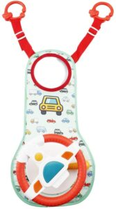 Happytime Musical Car Wheel Baby Toys In-Car Wheel