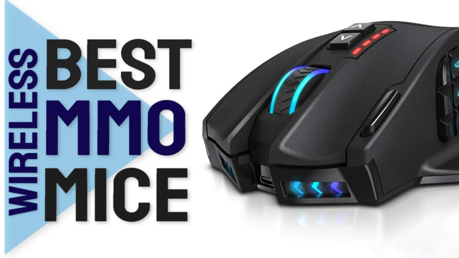 best wireless mmo mice