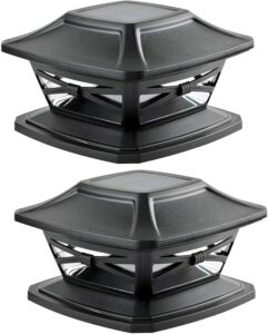 Davinci Lighting Flexfit Solar Outdoor Post Cap Lights