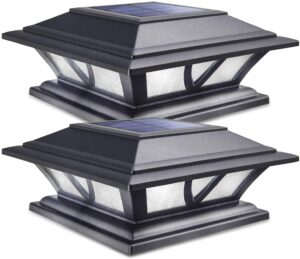 Siedinlar Solar Post Lights Outdoor
