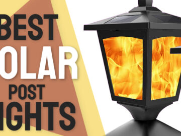 best solar post lights