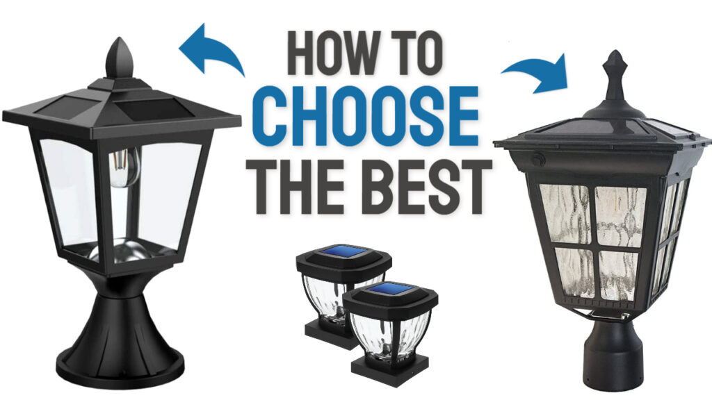 solar post cap light buying guide